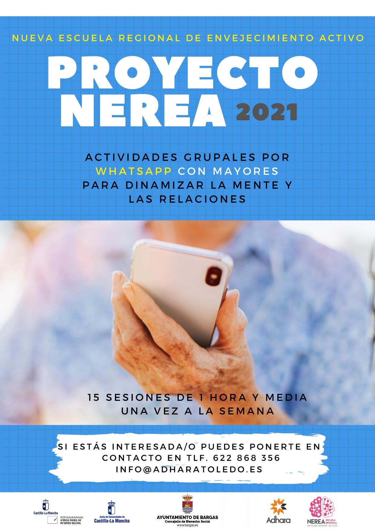 Proyecto Nerea 2021: Envejecimiento activo