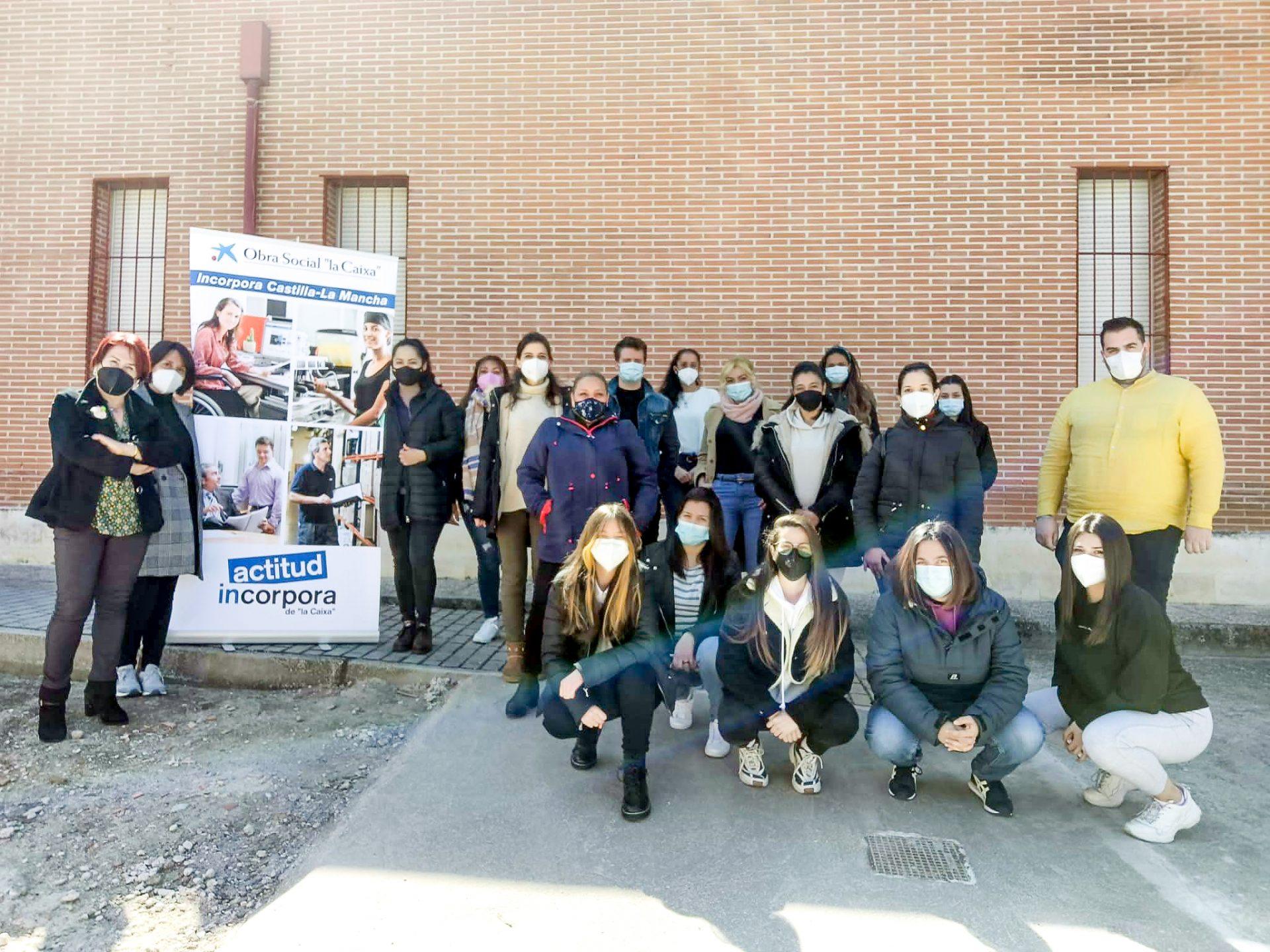 Finaliza la formación del programa «Incorpora» de Fundación «La Caixa» en Bargas