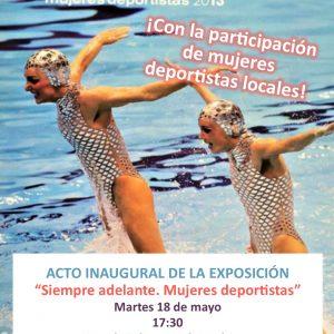 Exposición: «Siempre adelante. Mujeres deportistas»