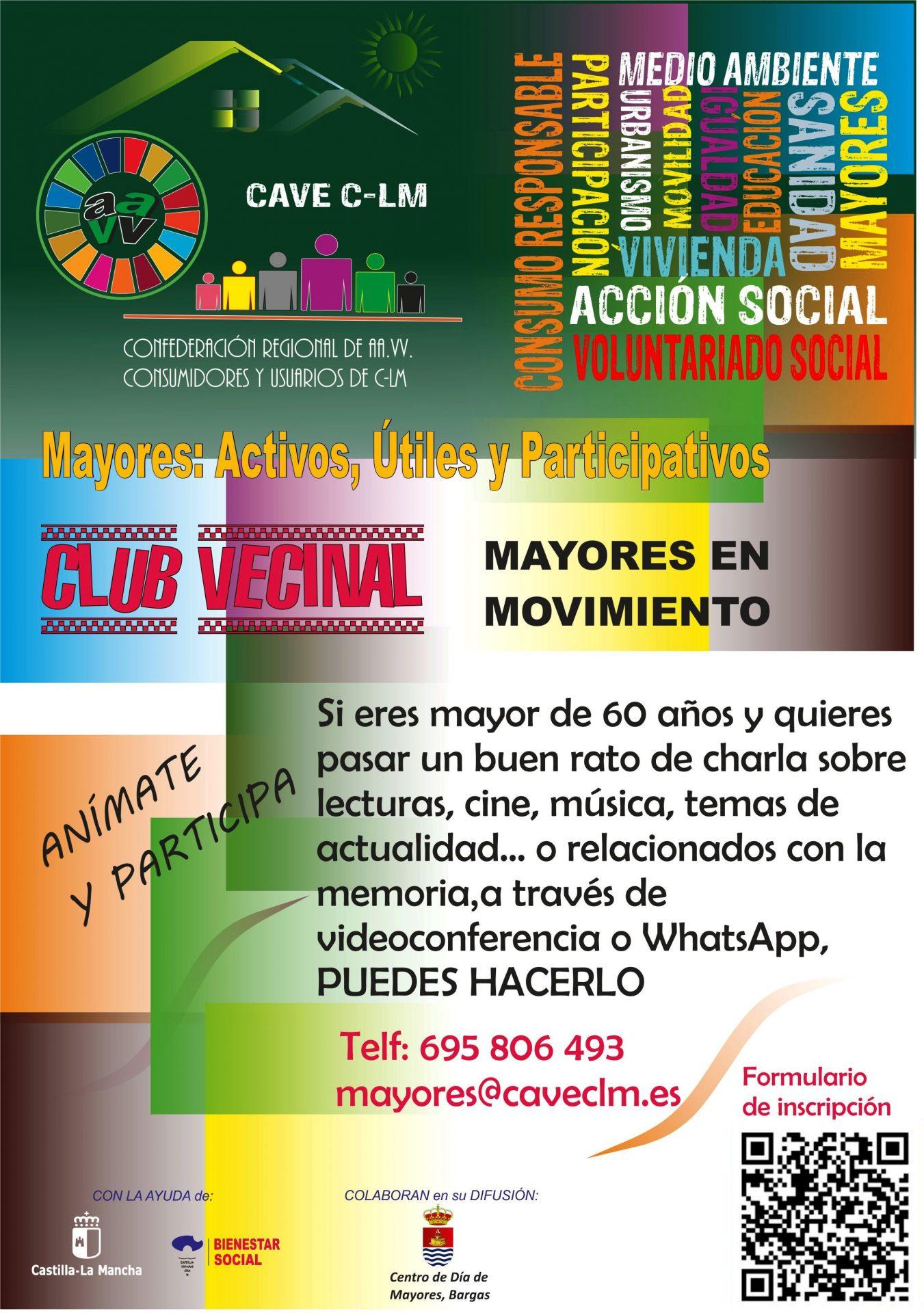 Club Vecinal: Mayores en Movimiento