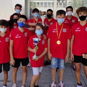 El Club de Ajedrez Bargas – Fundación Soliss, campeón sub-18 y subcampeón sub-12 en los regionales por equipos de Albacete