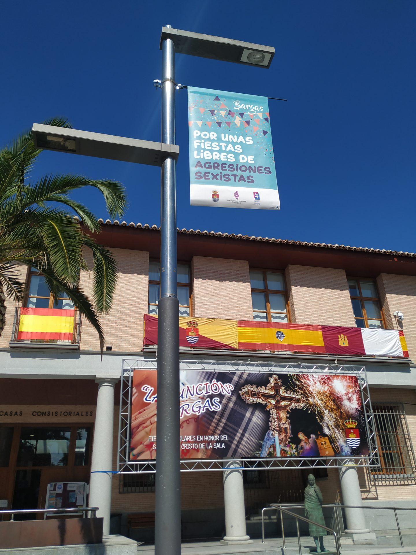 banderola ayuntamiento