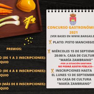 Concurso Gastronómico 2021