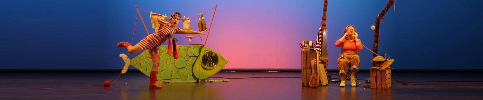 Teatro infantil (+3 años): «Cuando los peces vuelen»