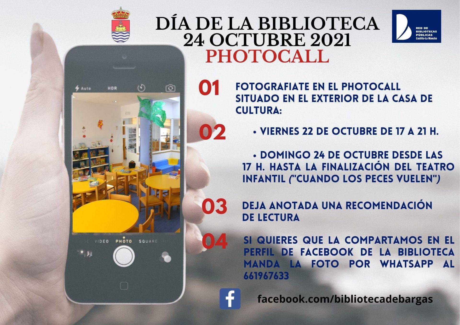 Photocall – Día de la Biblioteca